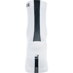 GORE WEAR M Mid Socks white/black